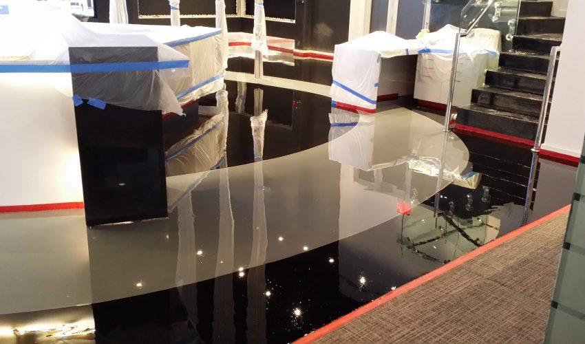 Наливной пол в квартире
